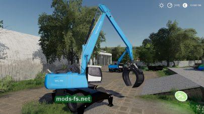 FuchsMHL350 mod FS 2019