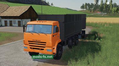 Мод на КамАЗ 68900Р