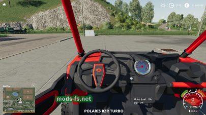 PolarisRZRдля игры Farming Simulator 2019