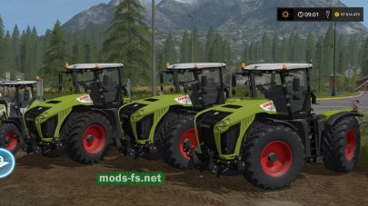Мод на «Claas Pack»