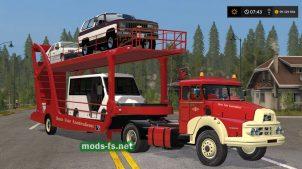 Мод на тягач FahrTransporterUNIS