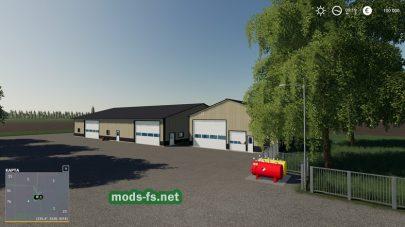«AmericanFlatlands»v1.1 для Farming Simulator 2019