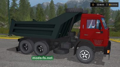 КамАЗ-55111 для Farming Simulator 2017