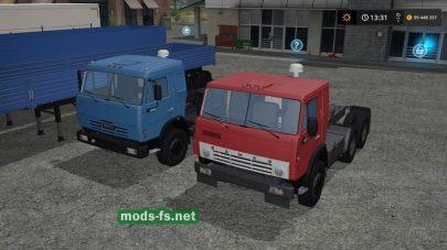Пак грузовиков КамАЗ