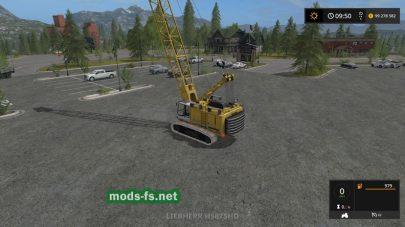 LiebherrHS875HD для Farming Simulator 2017