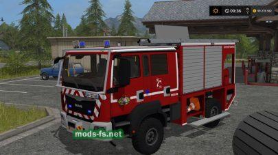 Пожарный МАН для FS 17