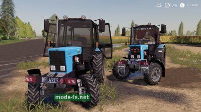 Мод трактора MTZTuning