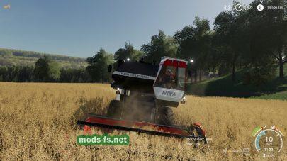 RostselmashNivaPackдля Farming Simulator 2019