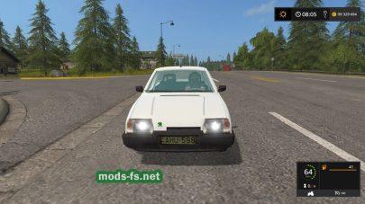 Мод на авто SkodaFavorit
