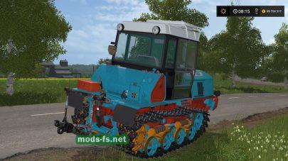 Мод на гусеничный трактор ВТ-150