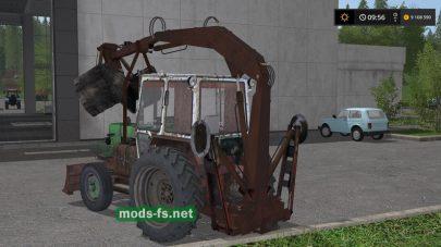 Мод трактора ЮМЗ-6 ПЭ-Ф-1Б