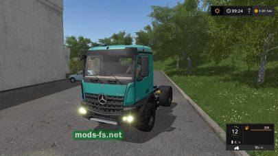MercedesArocsAgrarдля игры Farming Simulator 2017