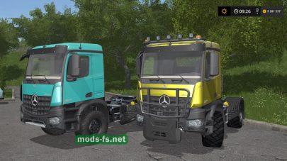 MercedesArocsAgrar FS 2017
