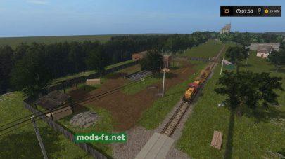 железная дорога в FS 2017