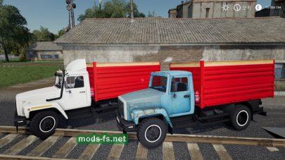 ГАЗ-35071 и САЗ-83173 в FS 2019