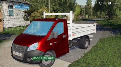 Мод грузовика GazelleNext
