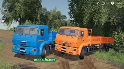 КамАЗ-65117 для игры Farming Simulator 2019
