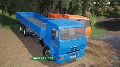 Мод на КамАЗ-65117