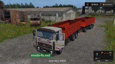 maz-6303s mod