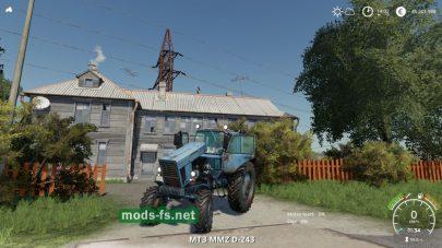 Мод на трактор МТЗ-82
