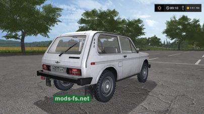 Мод на автомобиль Нива