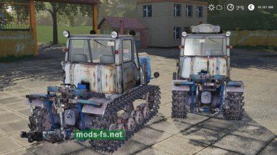 Скриншот мода T-150Tracked