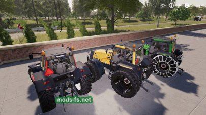 Трактор ValtraHitech в игре FS 19