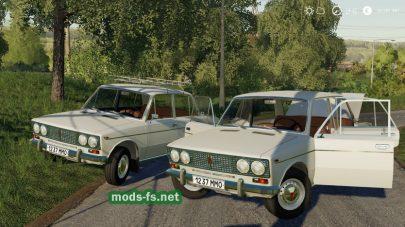 Скриншот мода ВАЗ-2103
