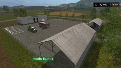 Baza Yuzhnayaa для Farming Simulator 2017