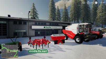 «Belgique Snow» для Farming Simulator 2019