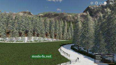 Belgique Snow для Farming Simulator 2019