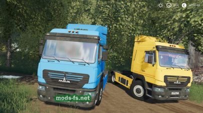 maz-5440e9 mod