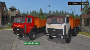 МАЗ 5516V для FS 19