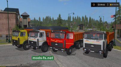 МАЗ 5516V mod