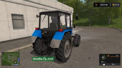 МТЗ-892 для игры Farming Simulator 2017