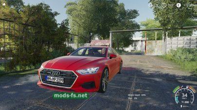 Мод на Audi A7 2018