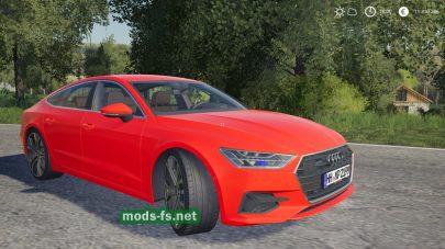 Audi A7 2018 для FS 2019