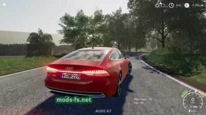 Audi A7 mod