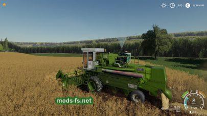 Енисей 1200М в игре FS 19