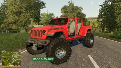 Jeep Gladiator в игре Farming Simulator 2019