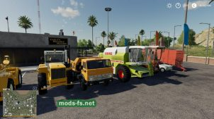 Kharon Retro TSZ Pack для Farming Simulator 2019