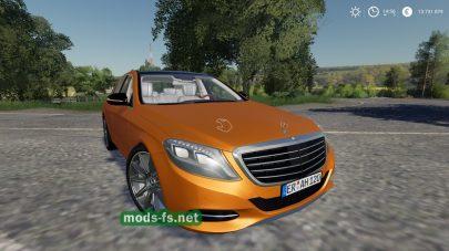 Mercedes S63 mod