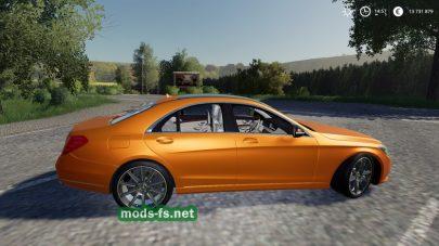 Мод на авто Mercedes