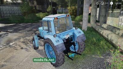Скриншот мода MTZ-80