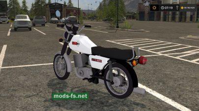 Мод мотоцикла MZ ETZ 250