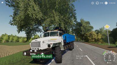 Урал в игре Farming Simulator 2019