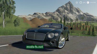 Мод на BentleyGTBlackEdition