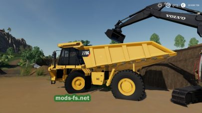 CAT 773G для Farming Simulator 2019