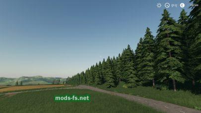 Лес на карте FunMap