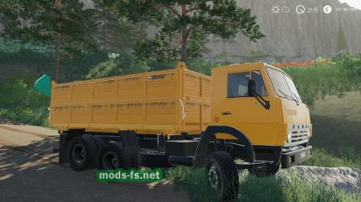 Скриншот мода kamaz 55102